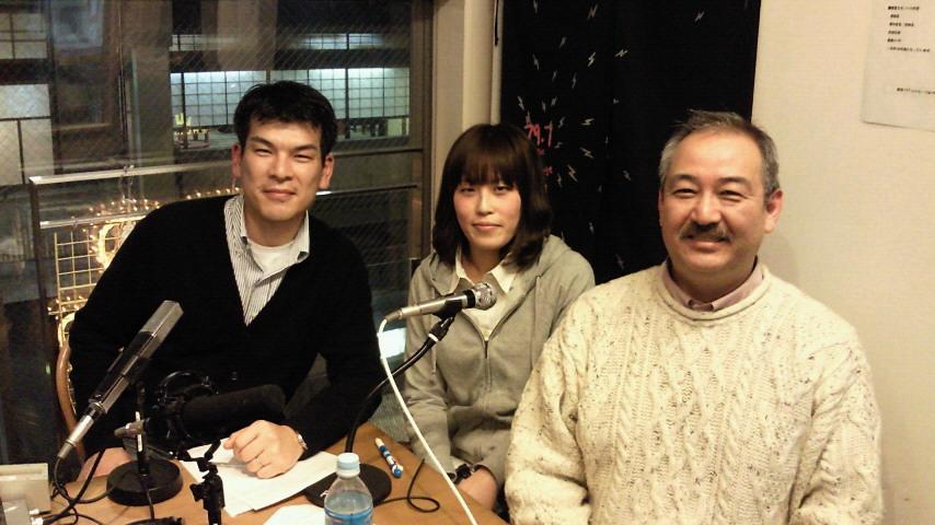 京都三条ラジオカフェにプロジェクト保津川が登場!