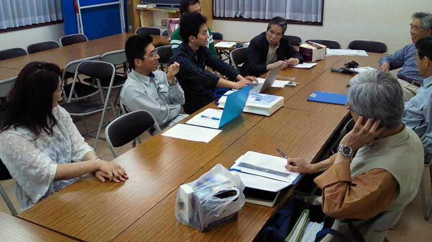 亀岡地区東部自治会でゴミマップのヒアリングを行いました