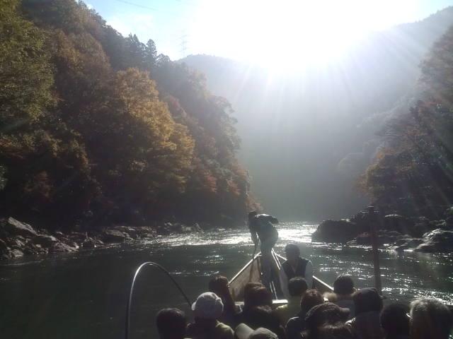 保津川の紅葉