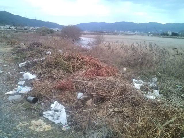 1月15日(<br />  日)定例清掃場所の状況報告