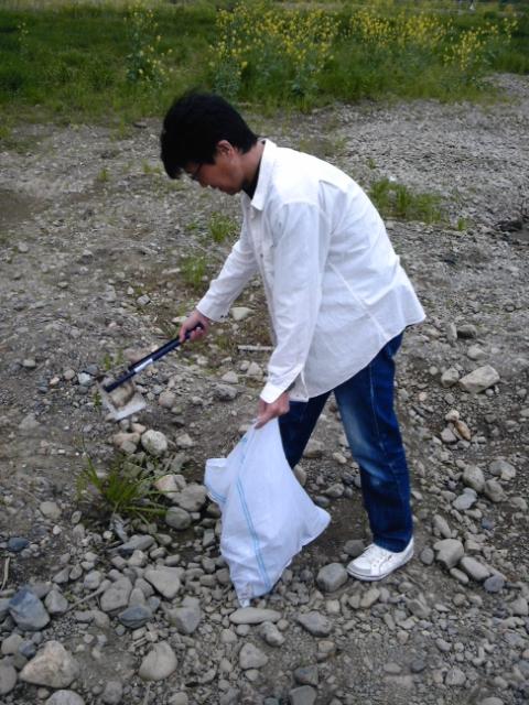 ゴールデンウイークのBBQごみ一掃作戦!2日目レポートです。